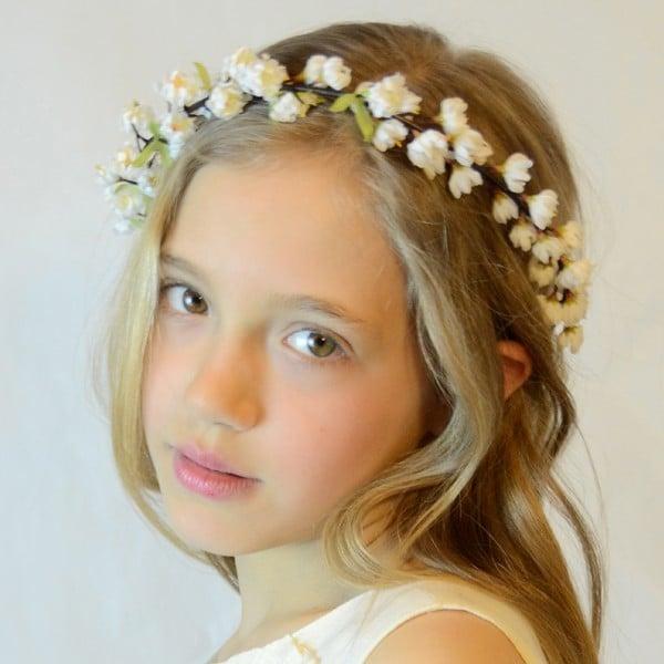 C mo hacer diademas de flores ejemplos de for Hacer diademas nina