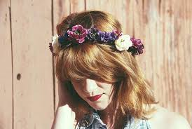 cmo hacer diademas de flores