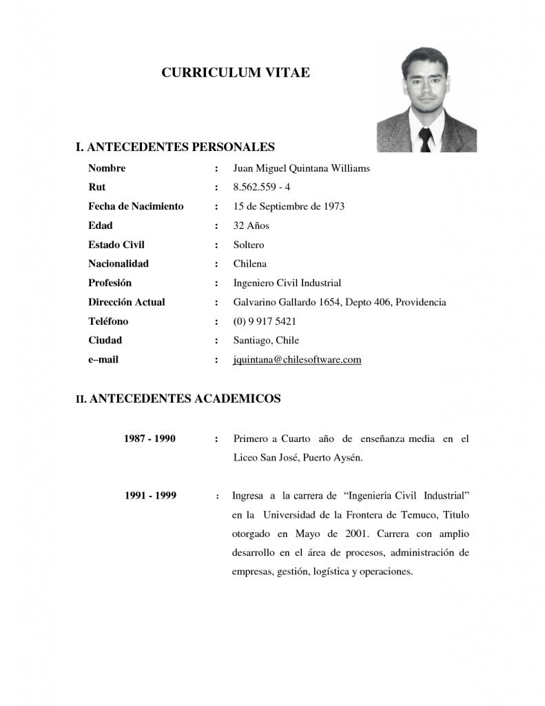 Curriculum Vitae Qfb