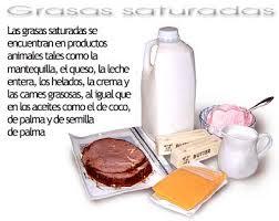 Alimentos que contengan lípidos