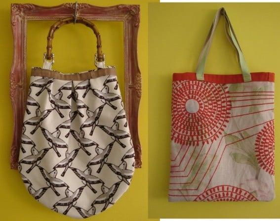 C mo hacer bolsas de tela ejemplos de - Como coser cortinas paso a paso ...