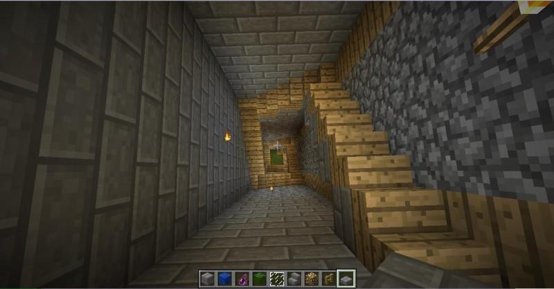 cmo hacer escaleras en minecraft