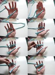 Cómo hacer pulseras tejidas