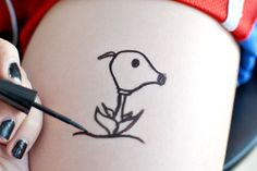 Cómo hacer tatuajes temporales