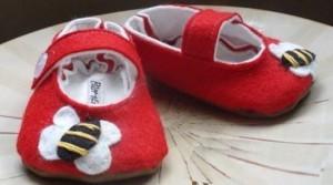 Cómo hacer zapatos para bebé
