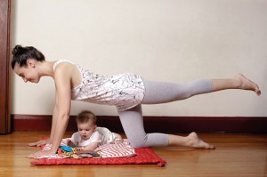 Cómo bajar la panza después del embarazo