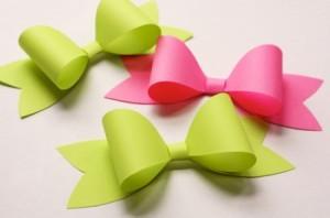 Cómo hacer moños de papel