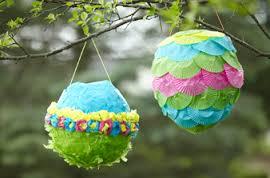 Cómo hacer piñatas de globos