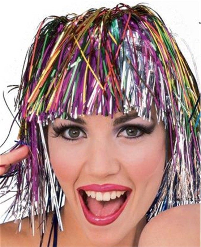 Rainbow Accessories - Rainbow Wigs, Hats & Jewelry | Party ...
