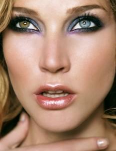 Cómo maquillar los ojos pequeños Con un efecto smokey