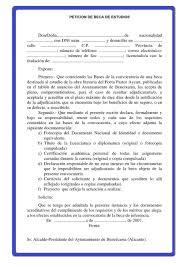 Cómo redactar una carta de petición