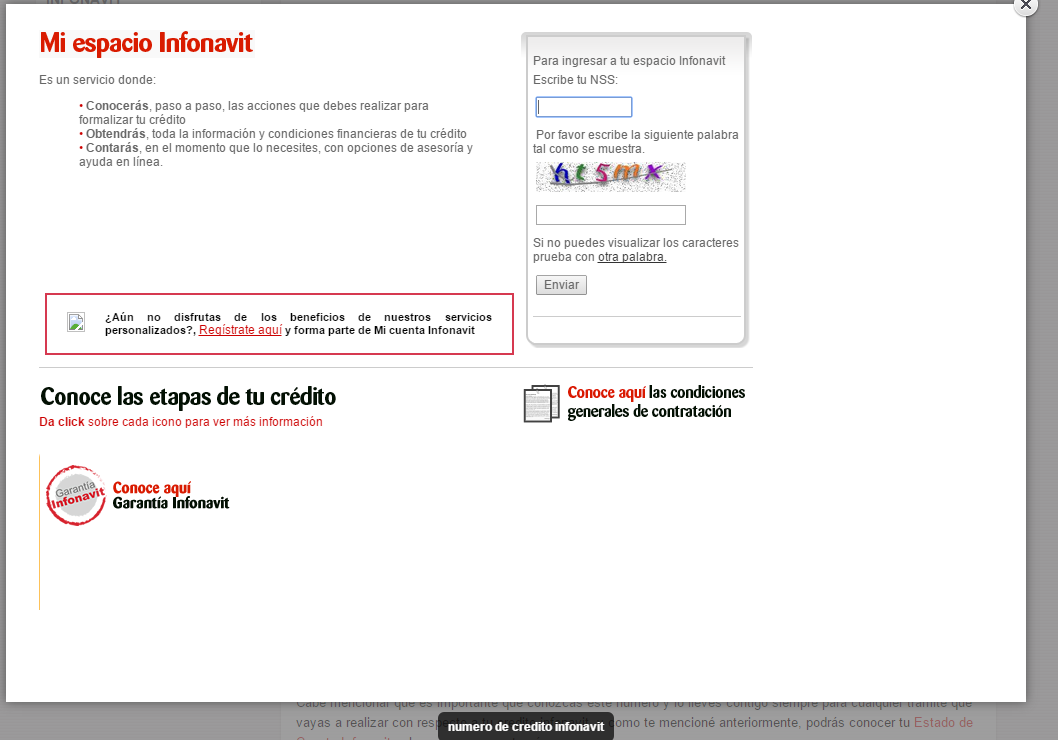 como puedo saber cuantos puntos tengo en infonavit html