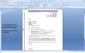 Características principales de la carta de motivación:  fondo y forma