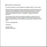 Carta de presentación para una beca