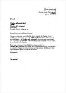 Cartas de agradecimiento por entrevistas de trabajo