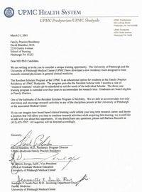 Ejemplo de carta formal en inglés