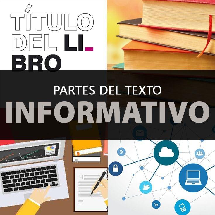 Partes Del Texto Informativo Explicadas A Detalle Ejemplos De