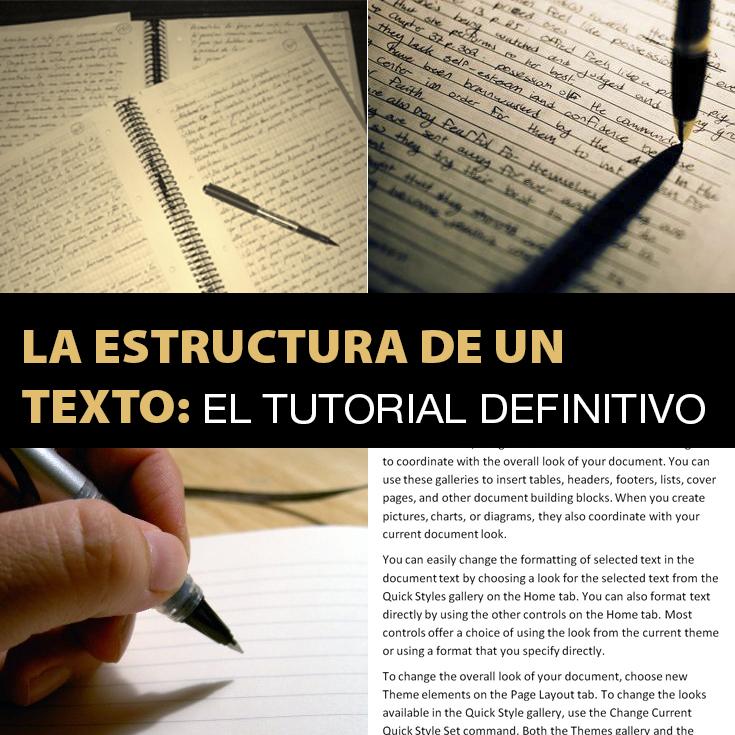 La Estructura De Un Texto El Tutorial Definitivo Ejemplos De